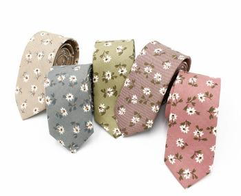Wholesale Fashion Colorful Casual Floral Polyester Neckties Ties