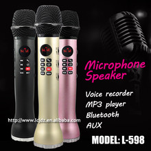 L-598 handheld bluetooth classroom teaching wireless lecture microphone for teachers