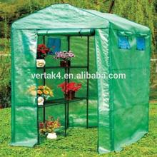 Rich experience portable 3 shelf walk-in steel green house