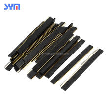 female pin header connector of 2 3 4 5 6 7 8 9 10 12 14 16 18 20 22 24 26 28 30 pin