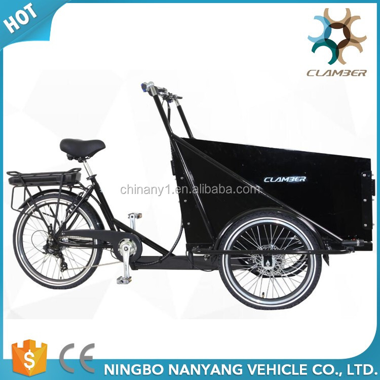 3 wheel electric cargo bike/tricycle for sale UB9036E(Wheel motor)