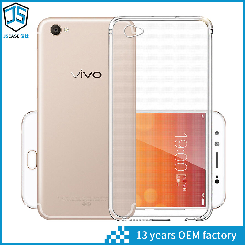 clear crystal silicone for android phone covers case for vivo xplay 6 , for vivo x6 plus
