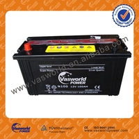 N100 dry charged battery 12v100ah pakistan market price made in China battery high performance