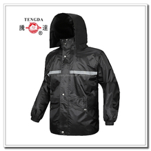 reflective <strong>safety</strong> PVC raincoat in stock