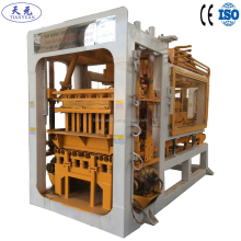 QTY4-15A automatic cement block & brick machine making in Algeria
