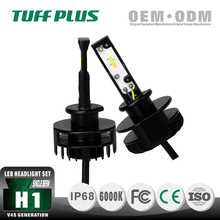 Hot Sale H1 10-30V 16w 2200lms Hi/Low Beam black hyundai h1 headlight with IP68 ISO CE ROHS