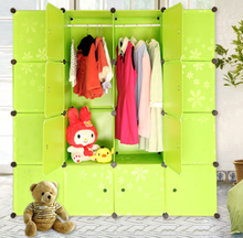DIY magic cubes cheap girls bedroom wardrobe online wardrobe india very cheap bedroom furniture (FH-AL0052-16 )