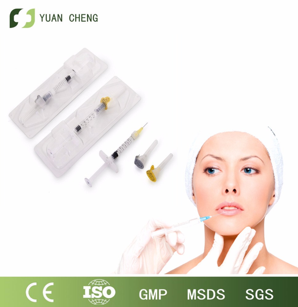 injection filler on face /face injection filler /Hyaluronic acid filler cost 1 ml