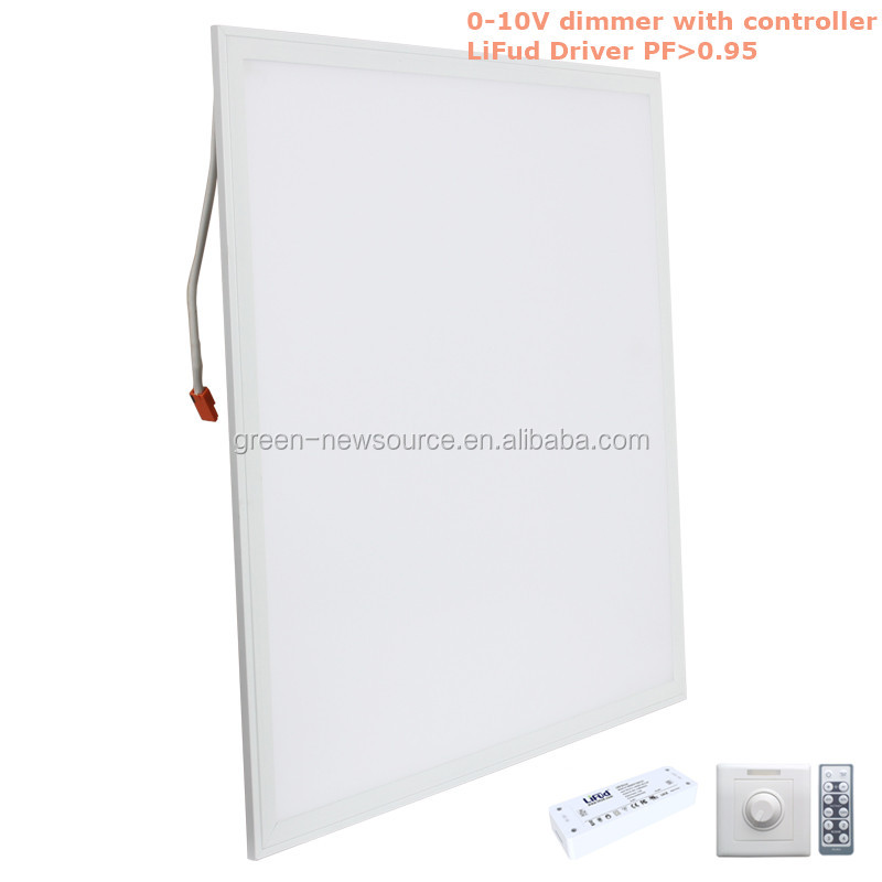The USA market 130lm/w 2x2 led drop ceiling light panels led panel light 600x600 40w dimmable