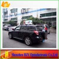 Hot p5 outdoor advertising taxi top led display made in china
