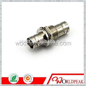 china supplier electric bnc female to jack bulkhead male and female connector