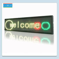 Ali export company good-looking running led p16mm display screen sign