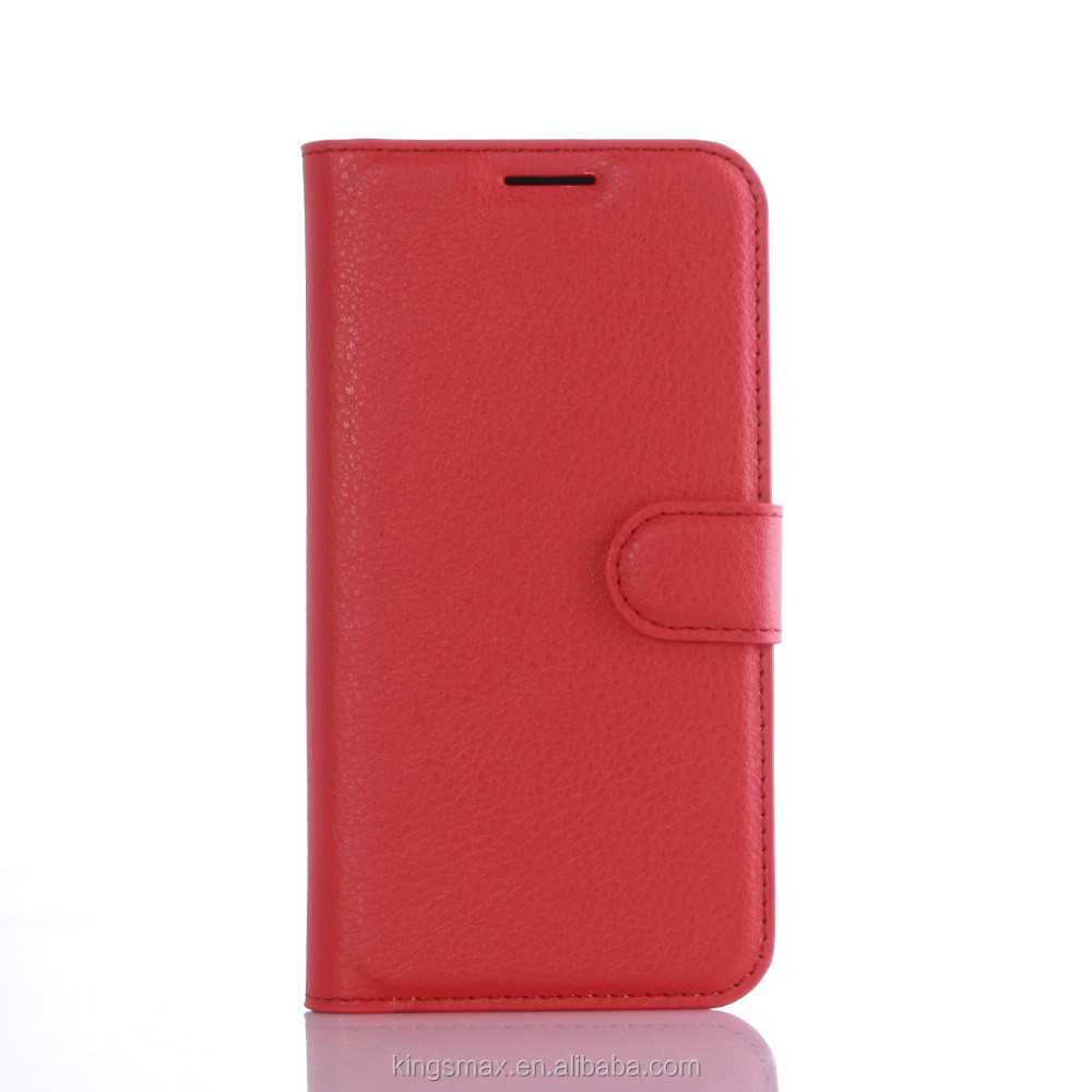 New Mobile Phone Housing Bag for Galaxy S7 . China Wholesale Red Flip Stand Leather Cover Shell for S7