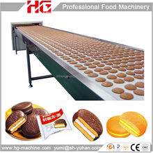 2016 new hot selling HG new design chocolate cake pie production line