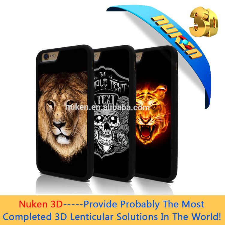 2019 vente chaude Personnalisé TPU portable étanche housse de téléphone portable avec 3d lenticulaire effet de retournement paquet - ANKUX Tech Co., Ltd