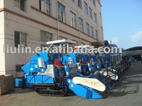 Super rice and wheat of combine harvester(good) in agriculture machinery factory
