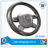 car /auto/ pick up truck/bus steering wheel cover maker auto accessories