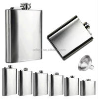 Stainless Steel Pocket Hip Flask / Alcohol Whiskey Liquor / stainless steel pocket liquor bottle