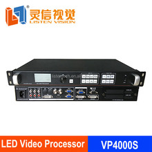 USB Led procesador de vídeo VP9000 comparar vdwall lvp505 515 para LED pantalla cortina