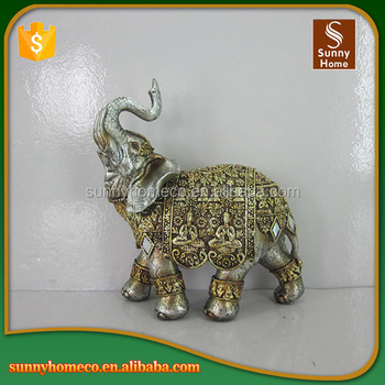 OEM Service Pretty Home Decoration Elephant Sculpture