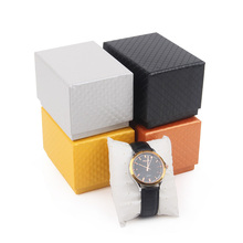 Cheap simple different types gift packaging paper watch box