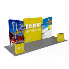 3*6 trade show display solution floor stand standard aluminium booth exhibition