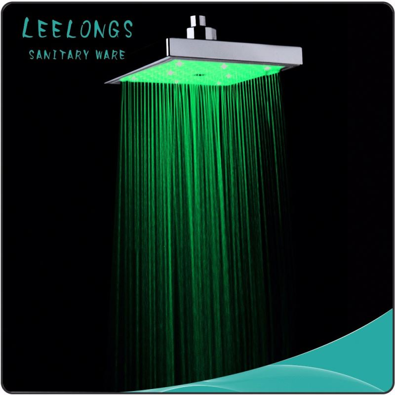 High quality led battery waterproof shower light