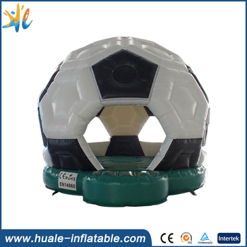 Huale new style commercial air jumper/soccer inflatable bouncy castle for kids