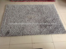 Best Sell Grey Chinese Knot and Korean Silk Area Rug