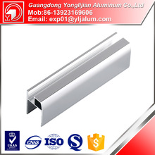 China best company profile design aluminum profile for glass shower doors
