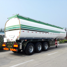 Chinese Custom-Made Fuel Tanker Semi Trailer For Gasoline Transport