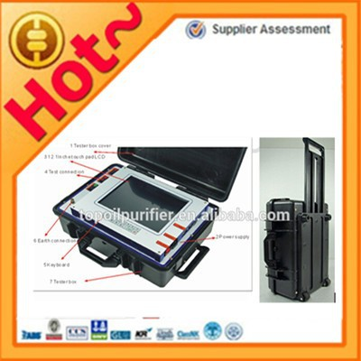 High accuracy current and potential transformer(CT/PT) tester