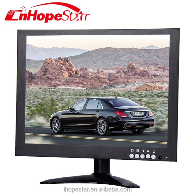 bnc input industrial cctv monitor 10 inch car monitor with hd mi input for sale
