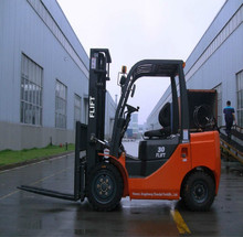 3Ton Gasoline And Lpg Forklift Truck With Nissan Engine