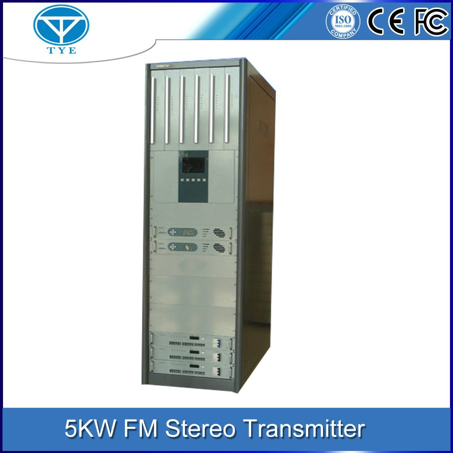 TY-105K RDS interface 5kw high power stereo fm transmitter