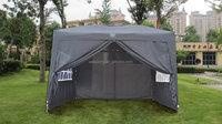 Pop UP Wedding Party Tent Folding Gazebo Camping Canopy W/ SIDES & Carry Bag