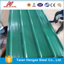 clear color coated zinc steel roofing sheet for house roofing
