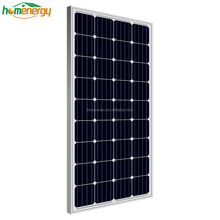TUV CE certificate 12v 100w mono panels solar light home