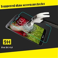 High Quality !! 0.26mm 9H Anti Scratch Anti Blue Light Mobile Phone Best tempered glass screen protector for LG G2 (OEM/ODM)