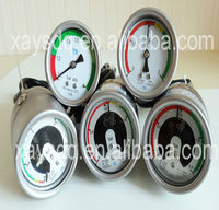 Manufacturer high accuracy,shock-proof electric contact pressure gauge ,SF6 gas manometer
