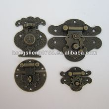 various latches for wooden box, decorative mini wooden box latch, box locks