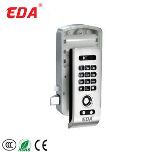 Gym Smart Digital Metal Handle Electronic Fingerprint Locker Door Cabinet Lock