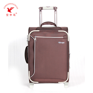 professional beauty luggage soft sided nylon travel trolley case manufacturer supplier