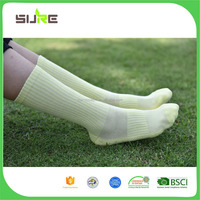 Factory Supply good quality mens 100% cotton sport socks from China