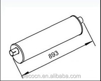 Quality Silencer & Muffler OEM NO. 93822262 Iveco Daily Parts
