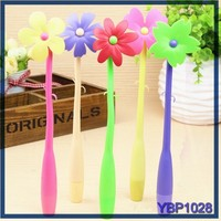 new innovative stationery product flower ball-point pen waterman ballpoint pen