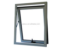 Aluminium double glazed top hung awning windows