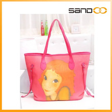 wholesale korean new designer cute handbags cartoon design lady bag