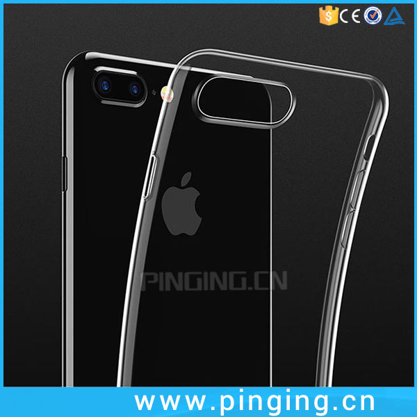 0.3mm Super Thin Clear TPU Case Coque For iPhone 7 , Clear Cover for iPhone 7 7 Plus Air TPU