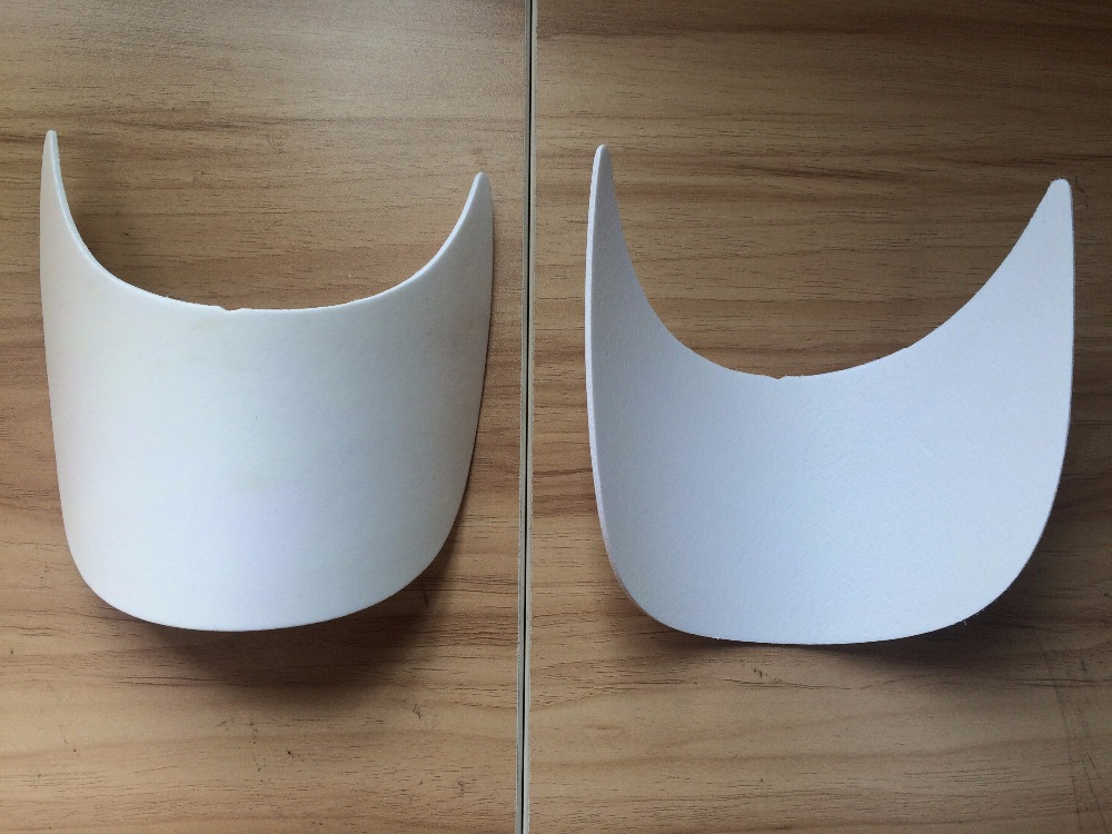 customized cheap plastic cap visor, cap accessories